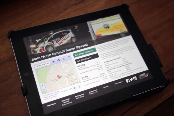 Scouts Rally SA iPad App